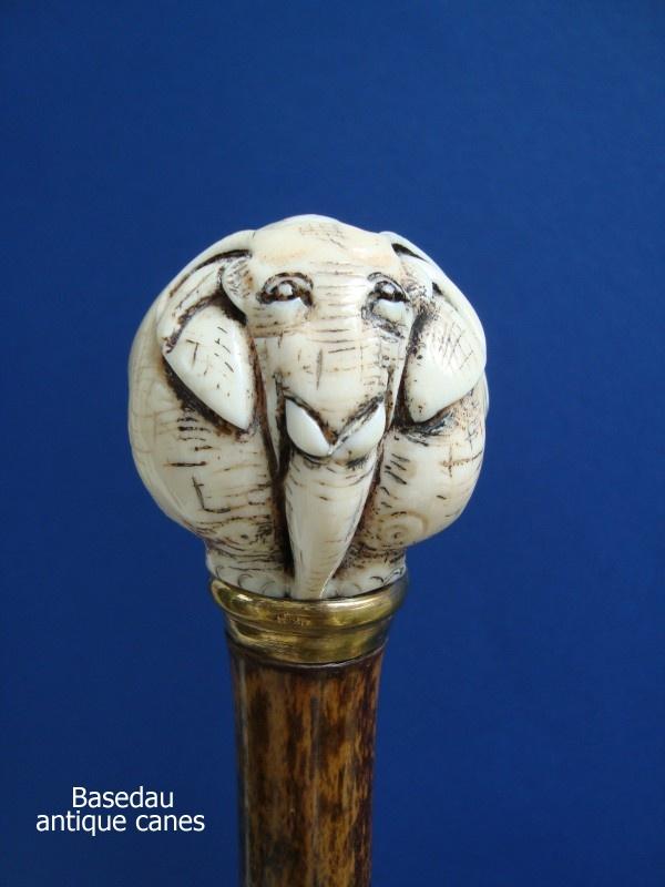 An ivory elephant