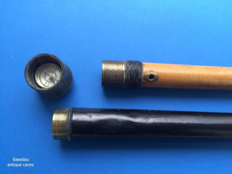 A telescope cane