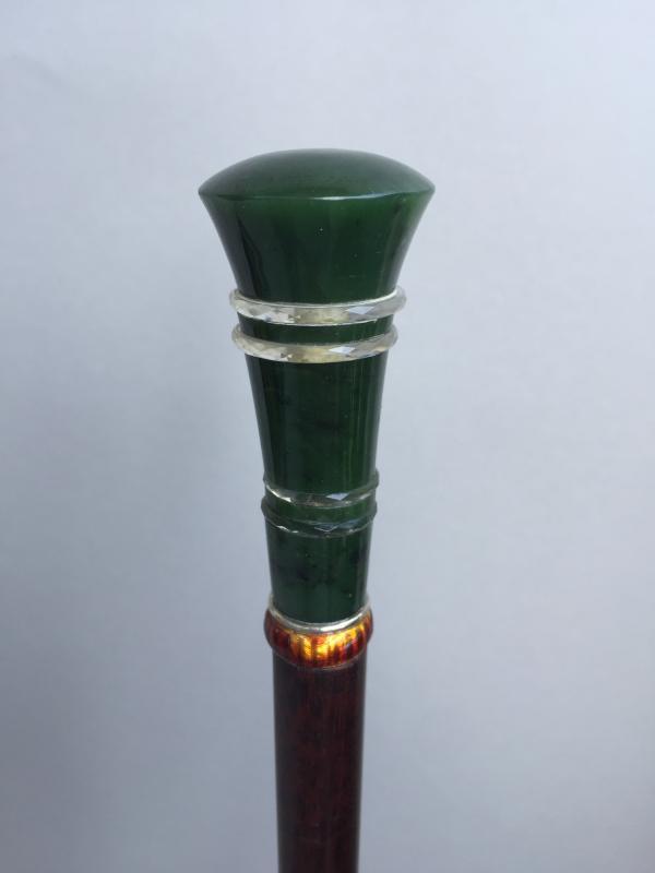 A jade pommel